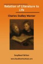 The Relation of Literature to Life by Charles Dudley Warner