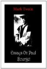 Essays on Paul Bourget by Mark Twain