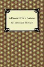 Hazard of New Fortunes, a — Volume 5 by William Dean Howells