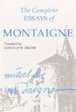 The Essays of Montaigne — Complete by Michel de Montaigne