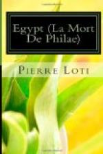Egypt (La Mort de Philae) by Pierre Loti