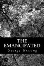 The Emancipated by George Gissing