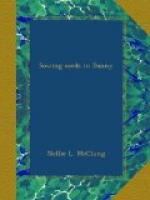 Sowing Seeds in Danny by Nellie McClung