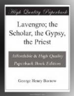 Lavengro; the Scholar, the Gypsy, the Priest by George Borrow