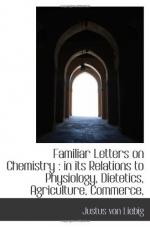 Familiar Letters on Chemistry by Justus von Liebig