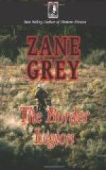 The Border Legion by Zane Grey