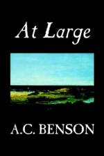 At Large by A. C. Benson