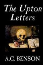 The Upton Letters by A. C. Benson