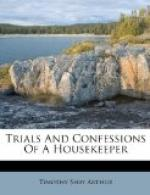 Trials and Confessions of a Housekeeper by Timothy Shay Arthur
