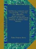 California Romantic and Resourceful; : a plea for the collection, preservation and diffusion of information relating to Pacific coast history by John Francis Davis