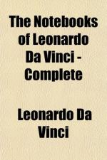 The Notebooks of Leonardo Da Vinci — Volume 1 by Leonardo da Vinci