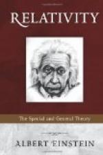 Relativity : the Special and General Theory by Albert Einstein