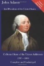 State of the Union Address by John Adams