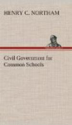 Civil Government for Common Schools by