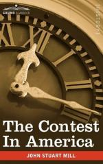 The Contest in America by John Stuart Mill