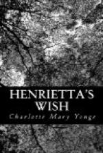 Henrietta's Wish by Charlotte Mary Yonge