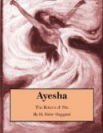 Ayesha, the Return of She by H. Rider Haggard