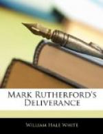 Mark Rutherford's Deliverance by William Hale White