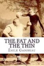The Fat and the Thin by Émile Gaboriau