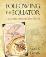 Following the Equator, Part 7 by Mark Twain
