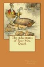 The Adventures of Poor Mrs. Quack by Thornton Burgess