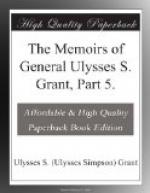 The Memoirs of General Ulysses S. Grant, Part 5. by Ulysses S. Grant