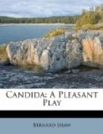 "Shaw's ""Candida"" as a Drama of Ideas by"