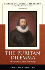 John Winthrop and the Suffolk County Court Cases by