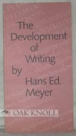 The Development of Writing by