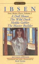 "Keeping Up Appearances: Deception in ""a Doll's House"" and ""the Wild Duck"" by Henrik Ibsen"
