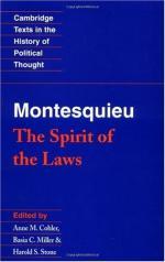 Montesquieu by