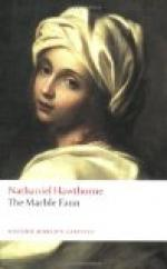 "Three Turning Points in ""The Marble Faun"" by Nathaniel Hawthorne"