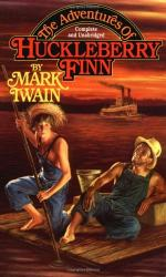 What is the effect that Jim has on Huck throughout the book? by Mark Twain