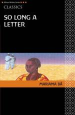 Ramatoulaye's Ideas of Friendship and Marriage by Mariama Ba