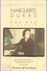 Effects of War on Mankind by Marguerite Duras