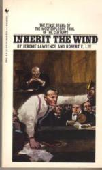 Inherit The Wind: The Real Scopes Trial by Jerome Lawrence