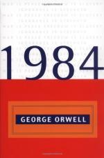 Semantic Views Between Winston and Julia by George Orwell