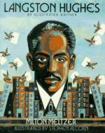 James Mercer Langston Hughes by Milton Meltzer