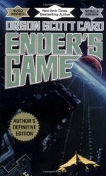 ENDER'S GAME analytical ESSSAY?