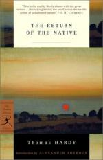 The Return of the Native: Pessimism Prevails by Thomas Hardy