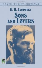Sons and Lovers, An Analysis by D. H. Lawrence