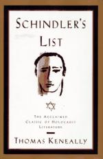 Characterization of Schindler's List by Thomas Keneally