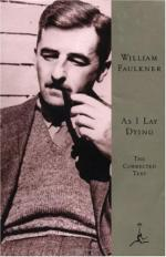 Shapes That Fill Lack: a Bundren Burden by William Faulkner