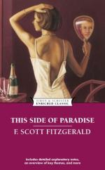 This Side of Paradise, An American Classic by F. Scott Fitzgerald