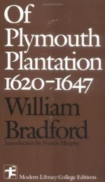 "A Comparison of ""a Description of New England"" and ""of Plymouth Plantation"" by William Bradford"