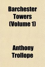 Barchester Towers; Role of a Narrator by Anthony Trollope