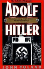 The German Worker's Party and Hitler's Influence by John Toland (author)