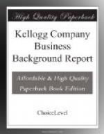 Kelloggs : a Corporate Success by