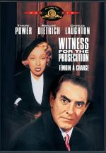 Witness for the Prosecution: A Character Analysis of Mr. Mayherne by Billy Wilder