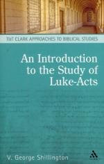 A Study of Luke and Acts by